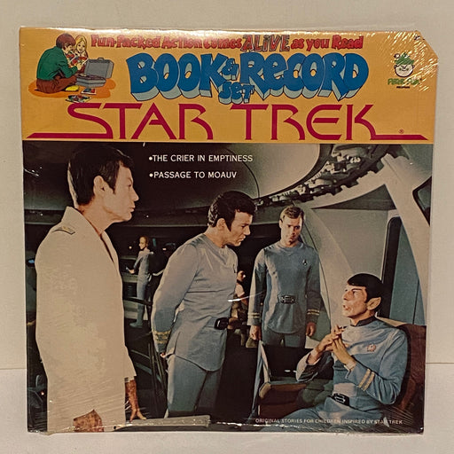 1979 Star Trek The Crier In Emptiness Book & Record Set BR522 Sealed LP 33   - TvMovieCards.com