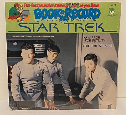 1979 Star Trek A Mirror for Futility Book & Record Set BR513 Sealed LP 33   - TvMovieCards.com