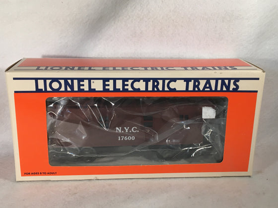 Lionel O Scale 6-17600 New York Central Wood Sided Caboose