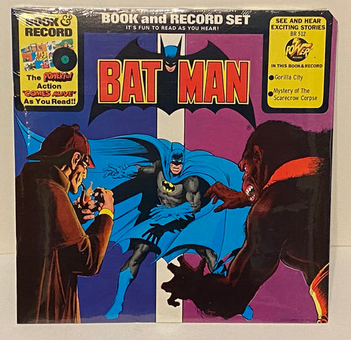 "1976 Batman ""Gorilla City"" Book & Record Set BR512 Sealed LP 33   - TvMovieCards.com"