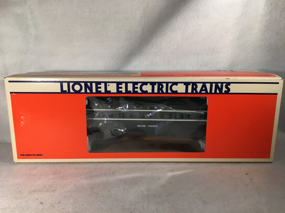 Lionel O Scale 6-9596 New York Central Wayne County Passenger Car