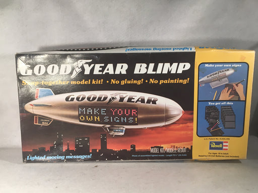 Vintage Revell Good Year Blimp H-999 Snap Together Plastic Model   - TvMovieCards.com