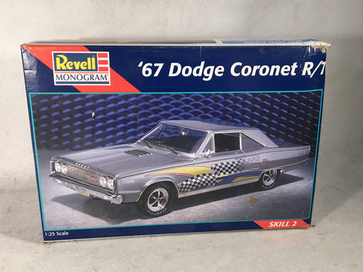 Revell 1/25 '67 Dodge Coronet R/T Plastic Model Kit 85-7629   - TvMovieCards.com