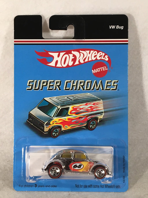 Hot Wheels Super Chromes VW Bug 2006 K4766   - TvMovieCards.com