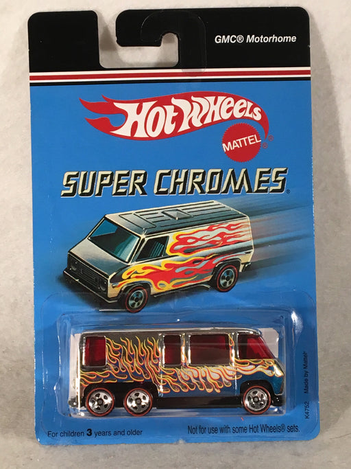 Hot Wheels Super Chromes GMC Motorhome with Flames 2006 K4762   - TvMovieCards.com