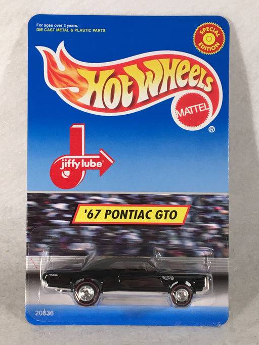 Hot Wheels Jiffy Lube '67 Pontiac GTO Black / Red Interior 1998 Special Edition   - TvMovieCards.com