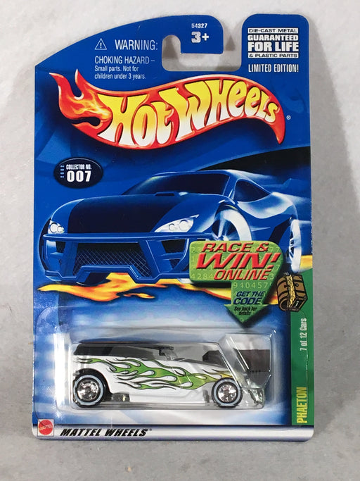 Hot Wheels Phaeton #7 - Treasure Hunt w/ Real Riders 2002 - 54327   - TvMovieCards.com