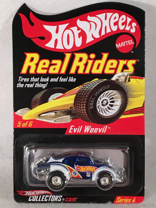 Hot Wheels Evil Weevil Real Riders Series 4 -2004 #H2927   - TvMovieCards.com