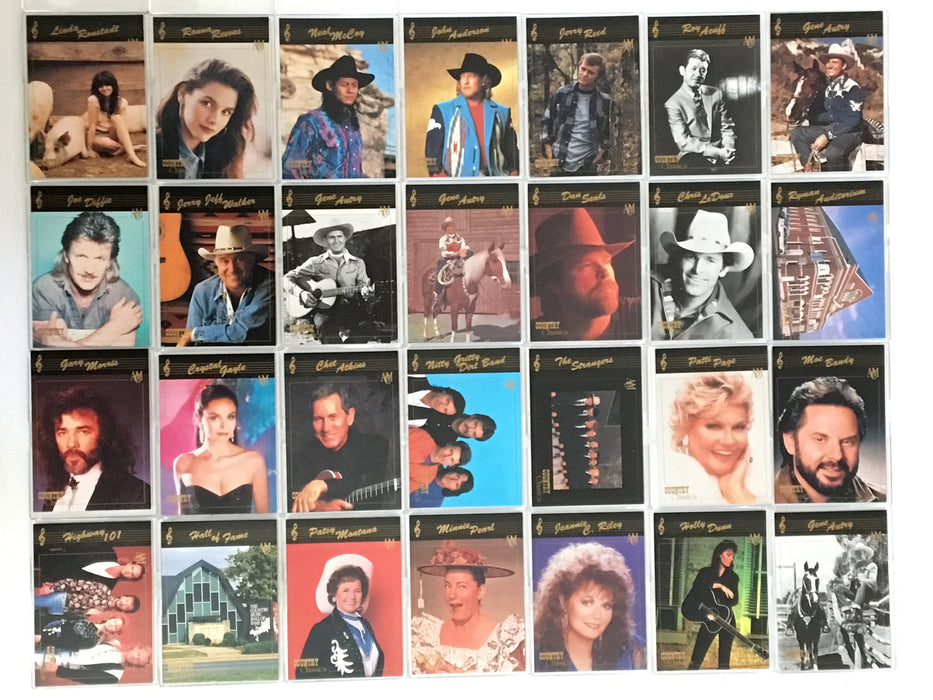 Country Classics Series One Base Trading Card Set 100 Cards   - TvMovieCards.com