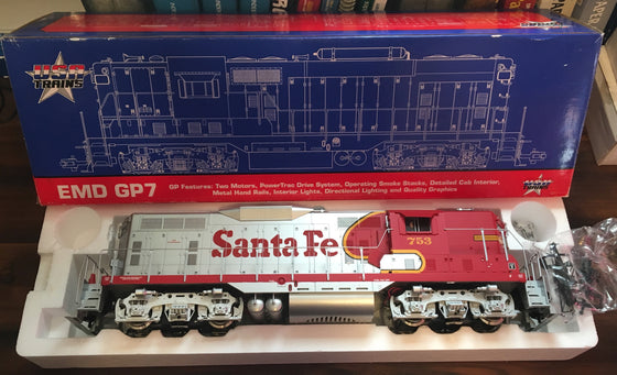 USA Train G Scale Santa Fe #753 Diesel Locomotive GP9 - 22107