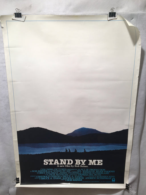 Stand By Me 1986 1SH Movie Poster River Phoenix Rob Reiner Stephen King 27x41   - TvMovieCards.com