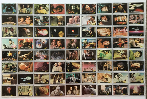 Star Trek 1976 Topps Vintage Trading Card Set 88 Cards with 22 Stickers   - TvMovieCards.com