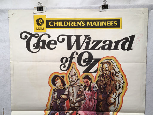 1970 Rerelease The Wizard of Oz Original 1SH Movie Poster Judy Garland 27x41   - TvMovieCards.com