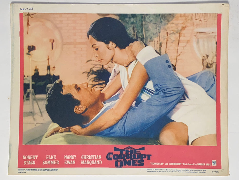 1967 The Corrupt Ones 11x14 Lobby Card #1 Robert Stack, Elke Sommer, Nancy Kwan   - TvMovieCards.com