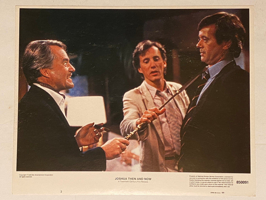 1985 Joshua Then and Now 11x14 Lobby Card #3 James Woods, Gabrielle Lazure   - TvMovieCards.com
