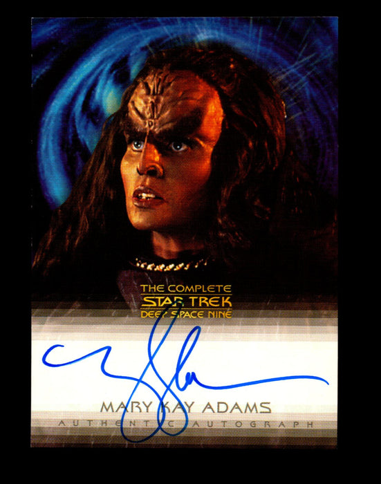 Star Trek Complete Deep Space Nine DS9 Mary Kay Adams A6 Autograph Card   - TvMovieCards.com