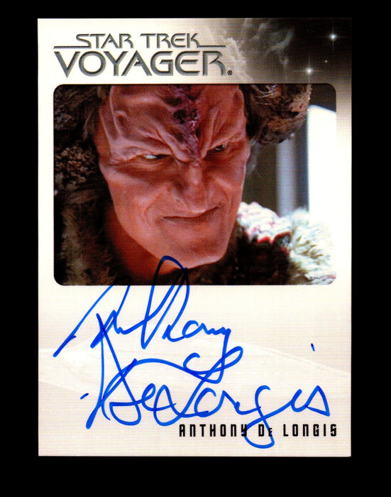 The Quotable Star Trek Voyager Anthony de Longis as Maje Culluh Autograph Card   - TvMovieCards.com