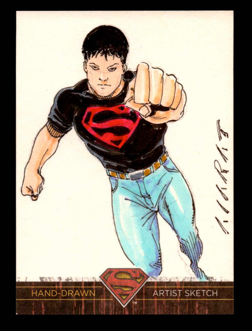 Superman: The Legend 2013 Cryptozoic DC Comics Sketch Card   - TvMovieCards.com