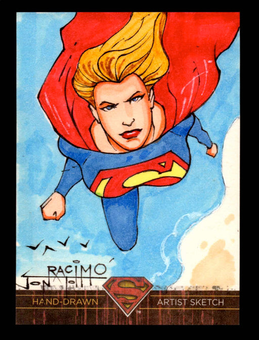 Superman: The Legend 2013 Cryptozoic DC Comics Sketch Card by Jon Racimo   - TvMovieCards.com