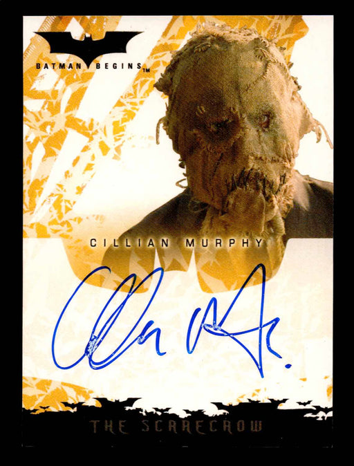 Batman Begins Movie Cillian Murphy as the Scarecrow Autograph Card Topps 2005   - TvMovieCards.com