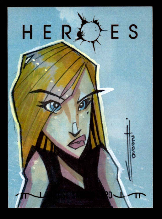 Heroes Volume 2 Artist Sketch Card 1/1 Topps 2008   - TvMovieCards.com