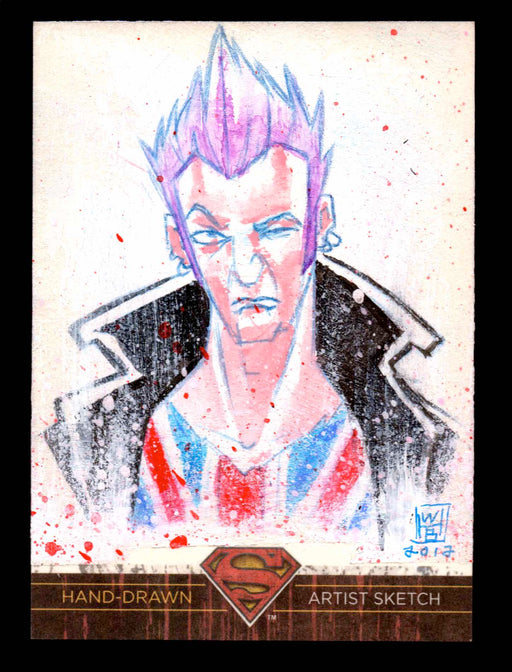 Superman: The Legend 2013 Cryptozoic DC Comics Sketch Card by William Bronson   - TvMovieCards.com