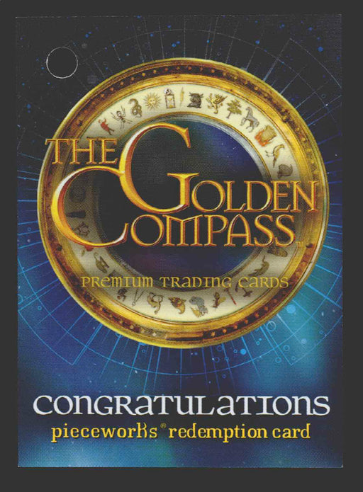 Golden Compass Redemption Card Mrs. Coulter's Dinner Dress PWR-1 Inkworks 2007   - TvMovieCards.com