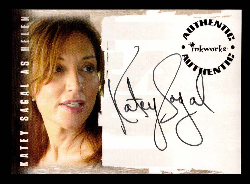 Lost Revelations A-7 Katey Sagal as Helen Autograph Card   - TvMovieCards.com