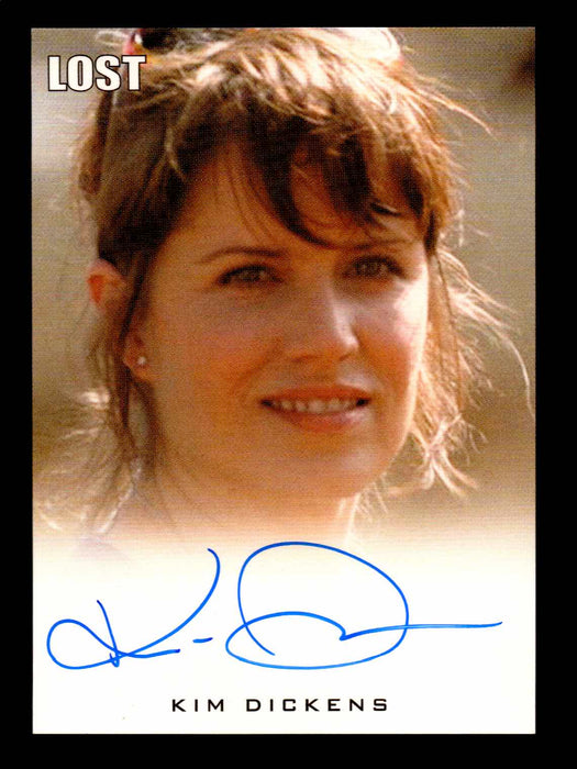 Lost Archives 2010 Kim Dickens as Cassidy Phillips Autograph Card   - TvMovieCards.com