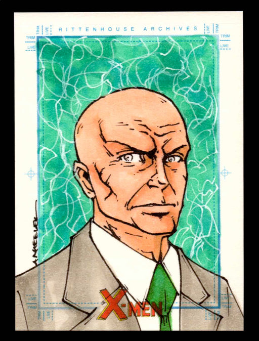 X-Men Archives 2009 Marvel Artist Sketch Trading Card 1/1 by Anthony Wheeler   - TvMovieCards.com