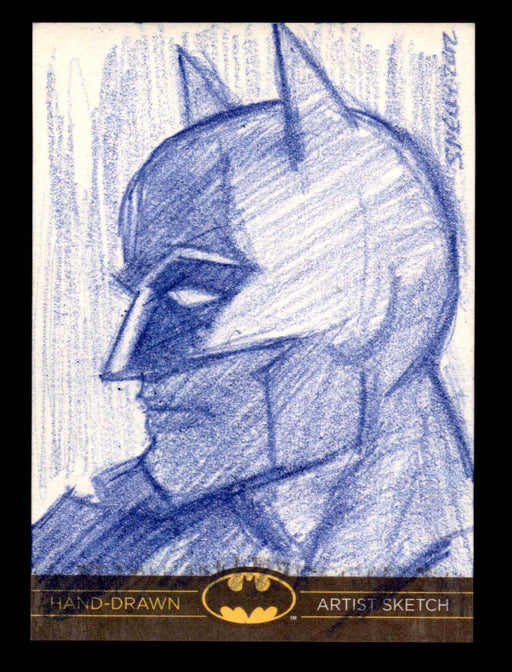 DC Comics Batman: The Legend 2013 Cryptozoic Sketch Card by Lawrence Snelly   - TvMovieCards.com