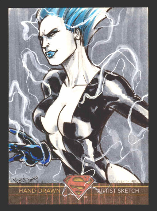 Superman: The Legend 2013 Cryptozoic DC Comics Sketch Card Vince Sunico   - TvMovieCards.com