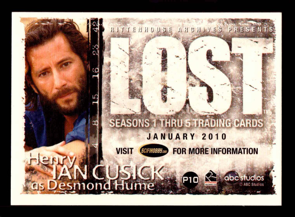 Lost Seasons 1-5 Promo Card P10 Philly Non-Sport Rittenhouse Archives 2010   - TvMovieCards.com