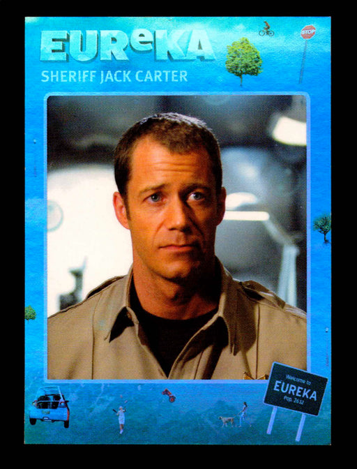 Eureka Season One & Two Character C12 Sheriff Jack Carter Rewards Chase Card   - TvMovieCards.com