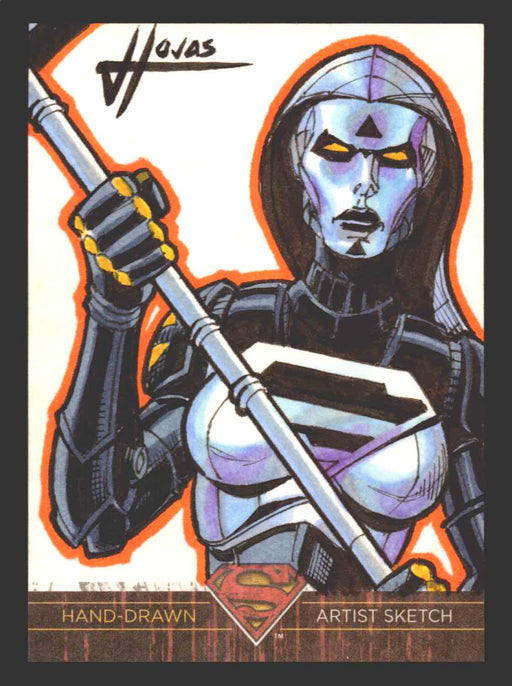 Superman: The Legend 2013 Cryptozoic DC Comics Sketch Card by Jefferson Hojas   - TvMovieCards.com