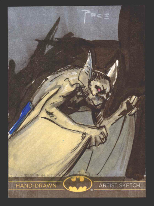 DC Comics Batman: The Legend 2013 Cryptozoic Sketch Card by Richard Pace   - TvMovieCards.com