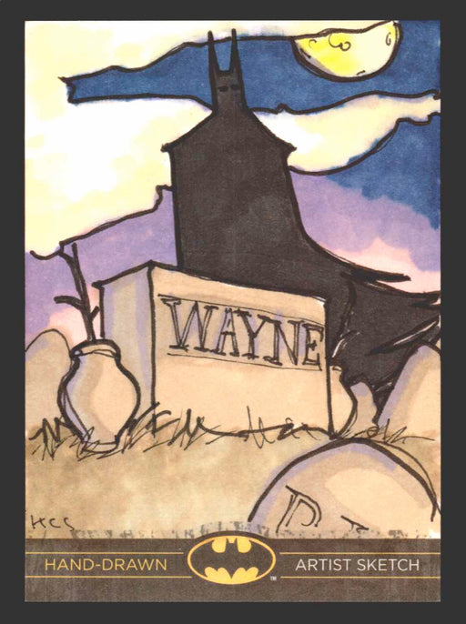 DC Comics Batman: The Legend 2013 Cryptozoic Sketch Card 1/1   - TvMovieCards.com