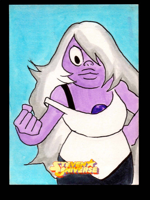 "2019 Steven Universe Artist Sketch Card ""Amethyst"" Cryptozoic"