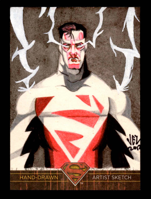 Superman: The Legend 2013 Cryptozoic DC Comics Sketch Card Jezreel Rojales   - TvMovieCards.com