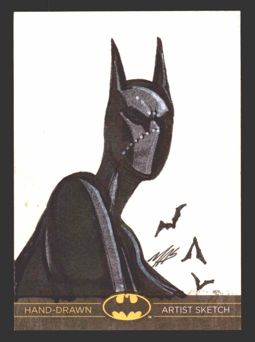 DC Comics Batman: The Legend 2013 Cryptozoic Sketch Card by Marcus Smith MAS   - TvMovieCards.com