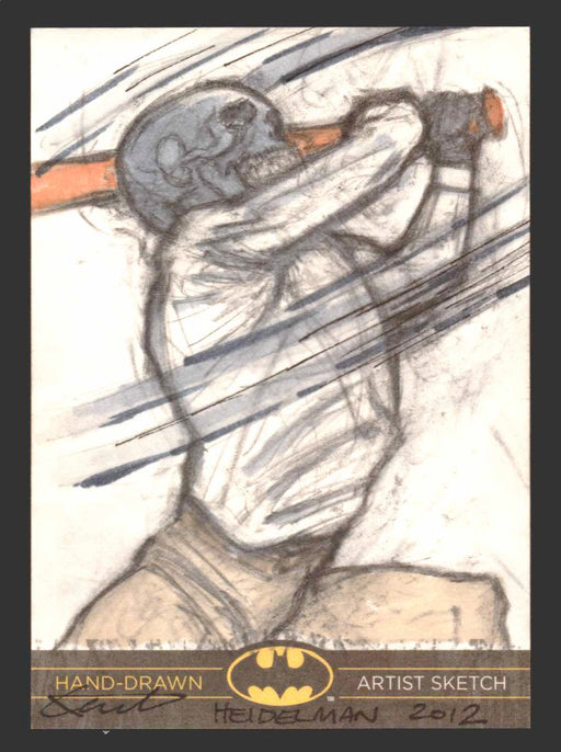 DC Comics Batman: The Legend 2013 Cryptozoic Sketch Card by Kent Heidelman   - TvMovieCards.com