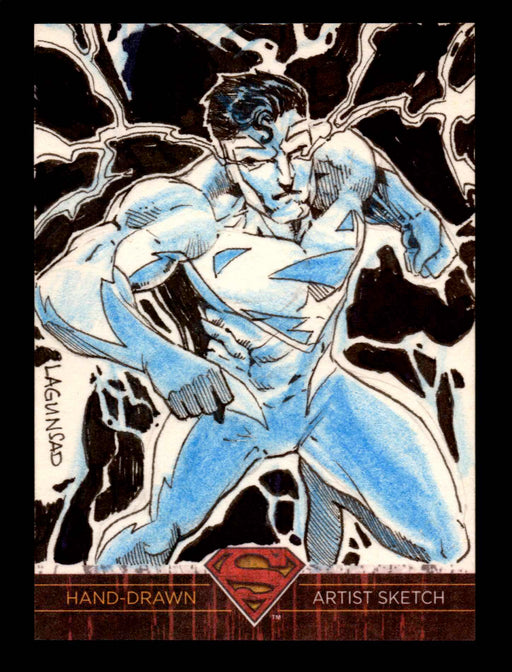 Superman: The Legend 2013 Cryptozoic DC Comics Sketch Card Rainier Lagunsad   - TvMovieCards.com