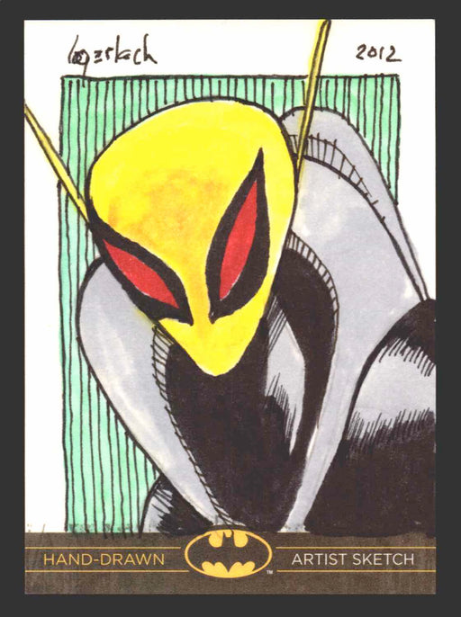 DC Comics Batman: The Legend 2013 Cryptozoic Sketch Card by Bruce Gerlach   - TvMovieCards.com