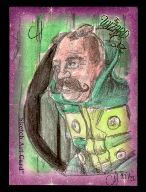 "Wizard of Oz Sketch Card by Chris Henderson Color ""Wizard"" Breygent 2006   - TvMovieCards.com"