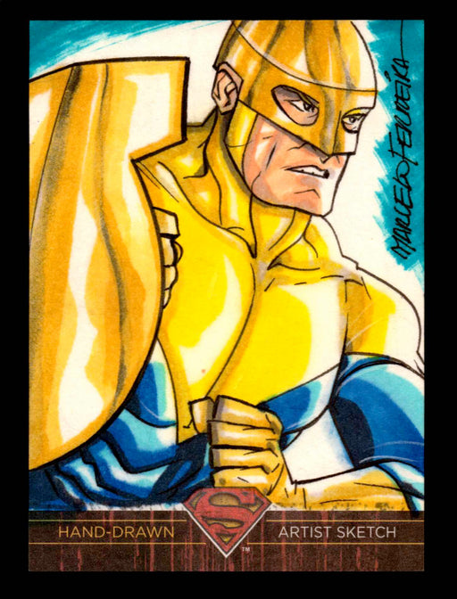Superman: The Legend 2013 Cryptozoic DC Comics Sketch Card Marcelo Ferreira   - TvMovieCards.com