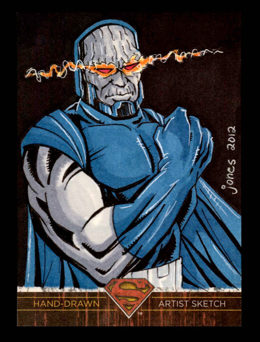 Superman: The Legend 2013 Cryptozoic DC Comics Sketch Card Andrew Jones   - TvMovieCards.com