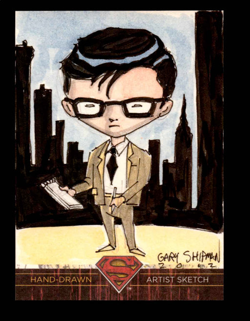 Superman: The Legend 2013 Cryptozoic DC Comics Sketch Card by Gary Shipman   - TvMovieCards.com