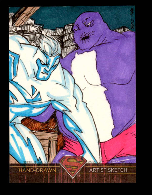 Superman: The Legend 2013 Cryptozoic DC Comics Sketch Card by Boo   - TvMovieCards.com