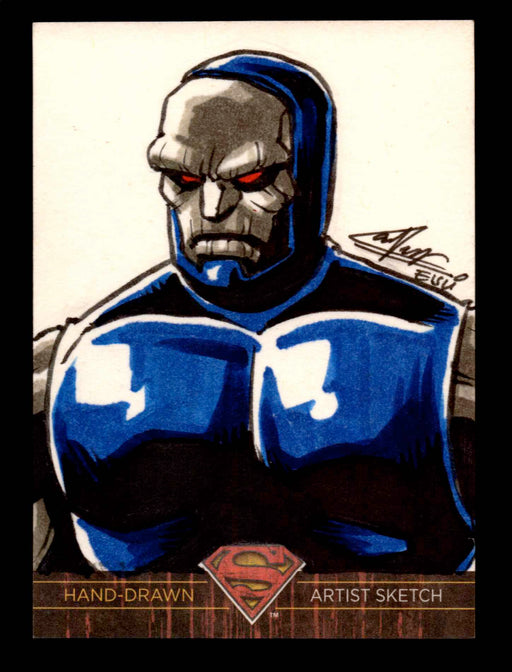 "Superman: The Legend 2013 Cryptozoic DC Comics Sketch Card Remy ""Eisu"" Mokhtar   - TvMovieCards.com"