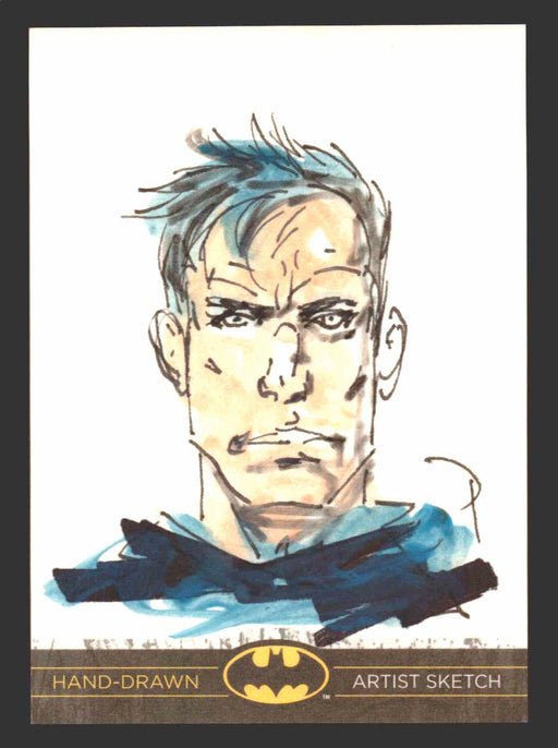 DC Comics Batman: The Legend 2013 Cryptozoic Sketch Card by Mark Pennington P.   - TvMovieCards.com